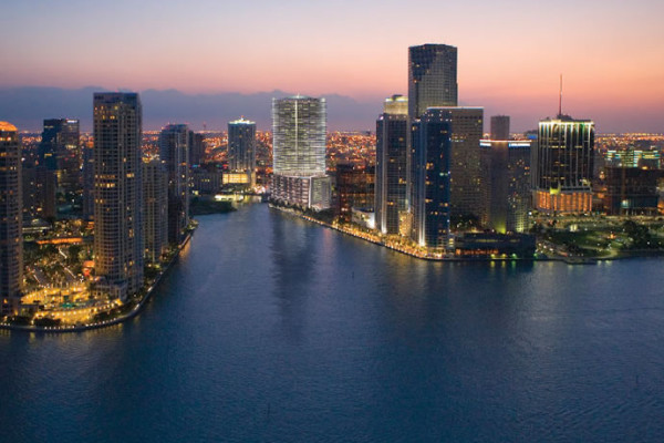 Epic Hotel Miami Skyline