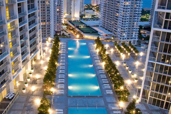 W Hotel Pool Miami