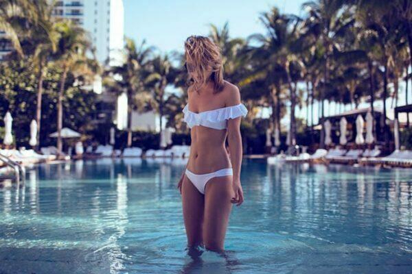 Beaitiful girl at W South Beach